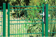 Install A Decorative Metal Gate For Your Garden